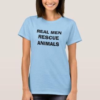 WIRKLICHE MANN-RETTUNGS-TIERE T-Shirt