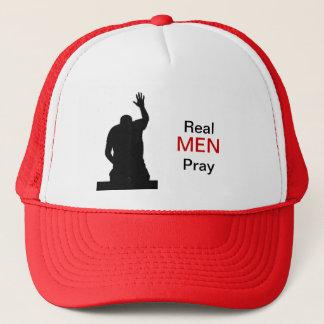 Wirkliche Männer beten Truckerkappe