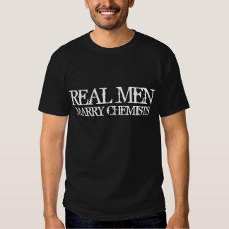 Wirkliche Männer heiraten Chemiker Hemd