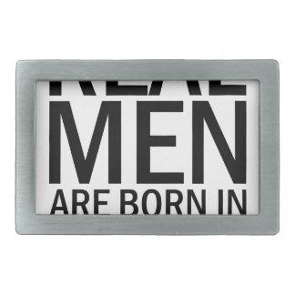 Wirkliche Männer können Rechteckige Gürtelschnalle
