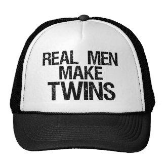 Wirkliche Männer machen Zwillinge Trucker Mütze