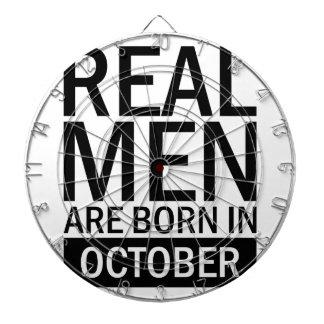 Wirkliche Männer Oktober Dartscheibe