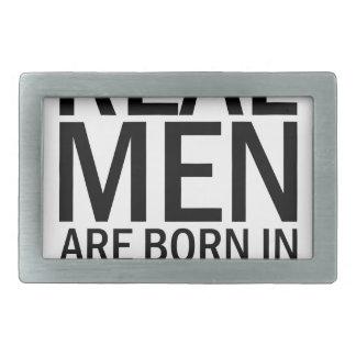 Wirkliche Männer Oktober Rechteckige Gürtelschnalle