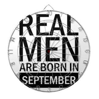 Wirkliche Männer September Dartscheibe