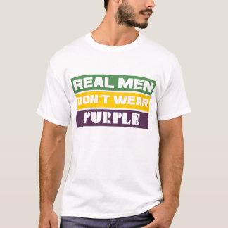 Wirkliche Männer tragen nicht Lila T-Shirt