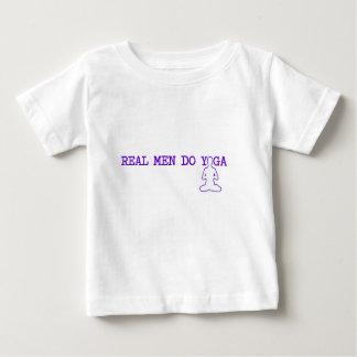 wirkliche Männer tun Yoga Baby T-shirt