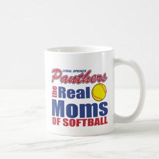 Wirkliche Softball-Mamma Kaffeetasse