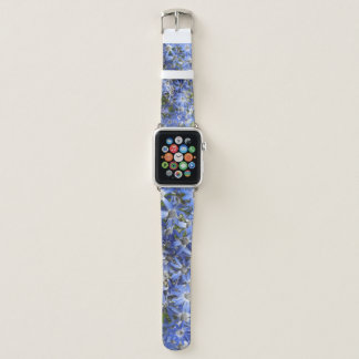 wirkliche tatsächliche Fotos der Garten-Blumen von Apple Watch Armband