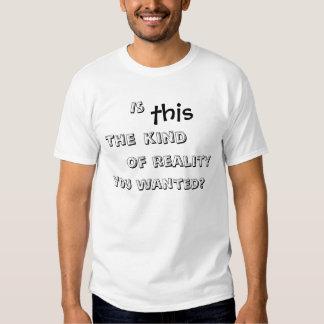 Wirkliche Wirklichkeit? T-Shirt