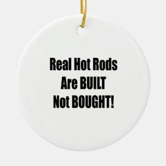 Wirklichen frisierten Autos werden nicht gekauft Keramik Ornament