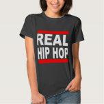 Wirklicher angesagter Hopfenschwarz-T-Stück Shirt