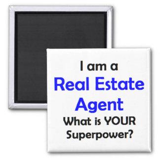 wirklicher Anwesen-Agent Quadratischer Magnet