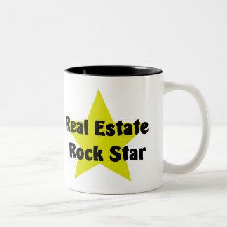 Wirklicher Anwesen-Felsen-Stern Teetassen