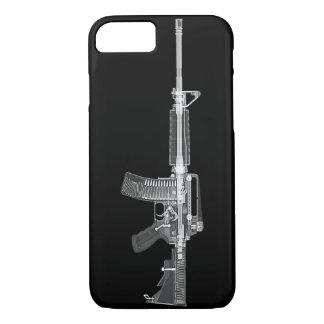 Wirklicher AR-15 CT SCAN GEWEHR-vom HOHEN iPhone 8/7 Hülle