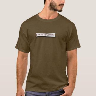 Wirklicher Glückskeks T-Shirt