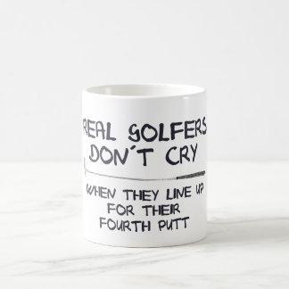 Wirklicher Golfspieler don´t Schrei Kaffeetasse