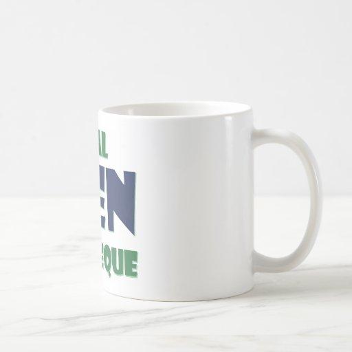 Wirklicher Mann-Grill Kaffeehaferl