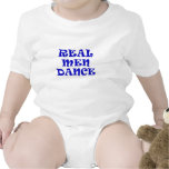 Wirklicher Mann-Tanz Baby Strampelanzug