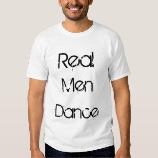 Wirklicher Mann-Tanz Shirt