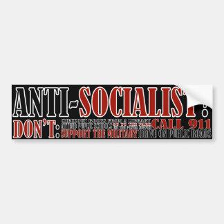 Wirklicher Sozialismus Autoaufkleber