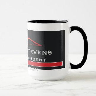 Wirkliches Anwesen-rote Dachspitze-Tassen Tasse