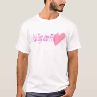 Wirkliches Boyz Abnutzungs-Rosa T-Shirt