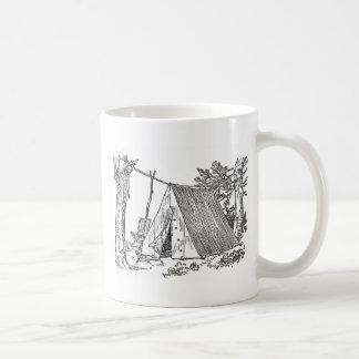 Wirkliches Camping Kaffeetasse