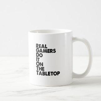 Wirkliches Gamersschwarzes Tee Tassen