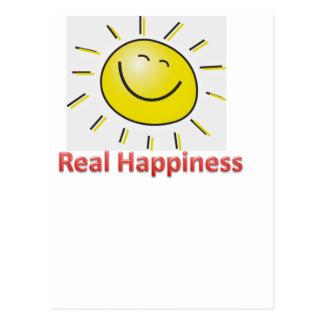wirkliches Glück Postkarte