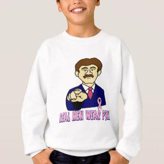 Wirkliches Herrenbekleidung-Rosa Sweatshirt
