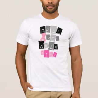 Wirkliches Herrenbekleidung-Rosa T-Shirt