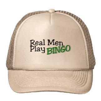 Wirkliches Mann-Spiel-Bingo Baseball Cap