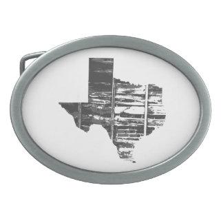 Wirkliches Texas Ovale Gürtelschnalle