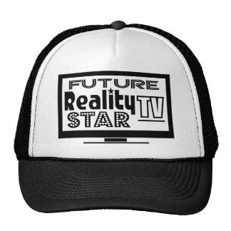 Wirklichkeit Fernsehstern Retro Cap
