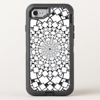 Wirklichkeit quadrierte Mandala OtterBox Defender iPhone 8/7 Hülle