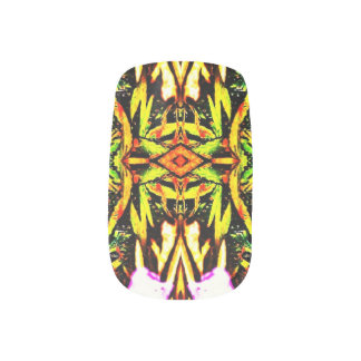 Wirklichkeits-Garten Minx Nagelkunst