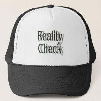 Wirklichkeits-Karo-eingetragenes Warenzeichen Truckerkappe