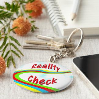 Wirklichkeits-Karo - Schlüssel Fob Schlüsselanhänger