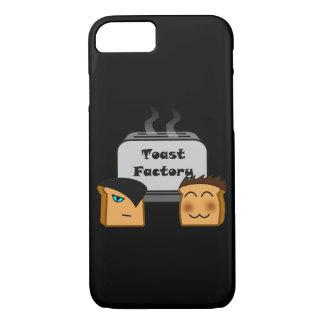 Wirte Toastie schwarze iPhone Abdeckungen (kaum iPhone 8/7 Hülle