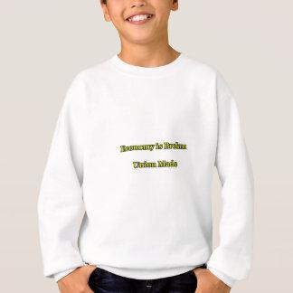 Wirtschaft ist die defekte Gewerkschaft, die das Sweatshirt