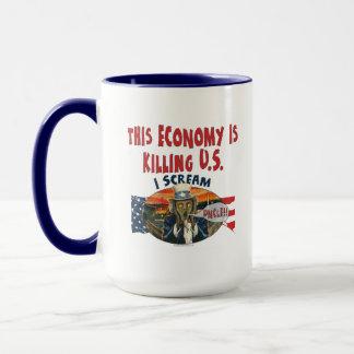 Wirtschaft tötet US Tasse
