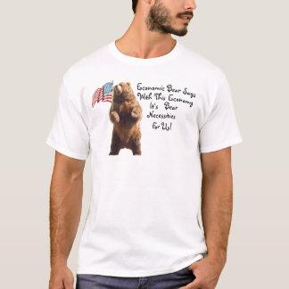 Wirtschaftlicher Bär sagt ............. T-Shirt