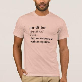 Wirtschaftsprüfer-Definition - Sommer-Pfirsich T-Shirt