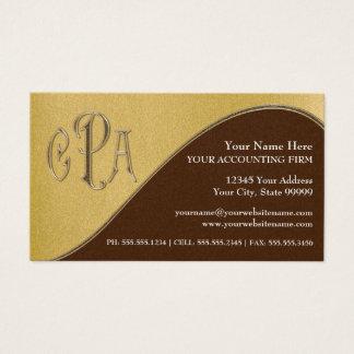 Wirtschaftsprüfer-Gewerbesteuern CPAs Visitenkarte