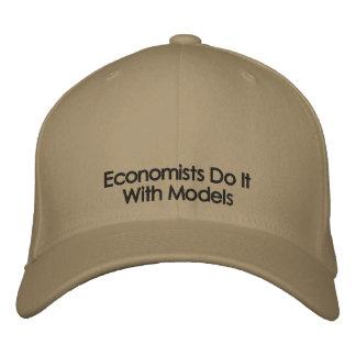 Wirtschaftswissenschaftler tun es mit Modell-helle Bestickte Kappe