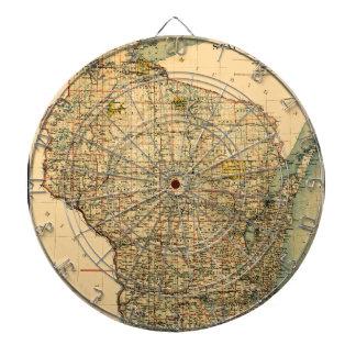 Wisconsin 1896 dartscheibe