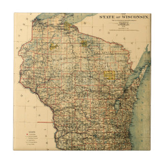 Wisconsin 1896 fliese