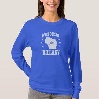 WISCONSIN FÜR HILLARY T-Shirt