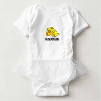 Wisconsin-Käsekopf Baby Strampler