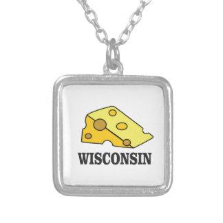 Wisconsin-Käsekopf Versilberte Kette